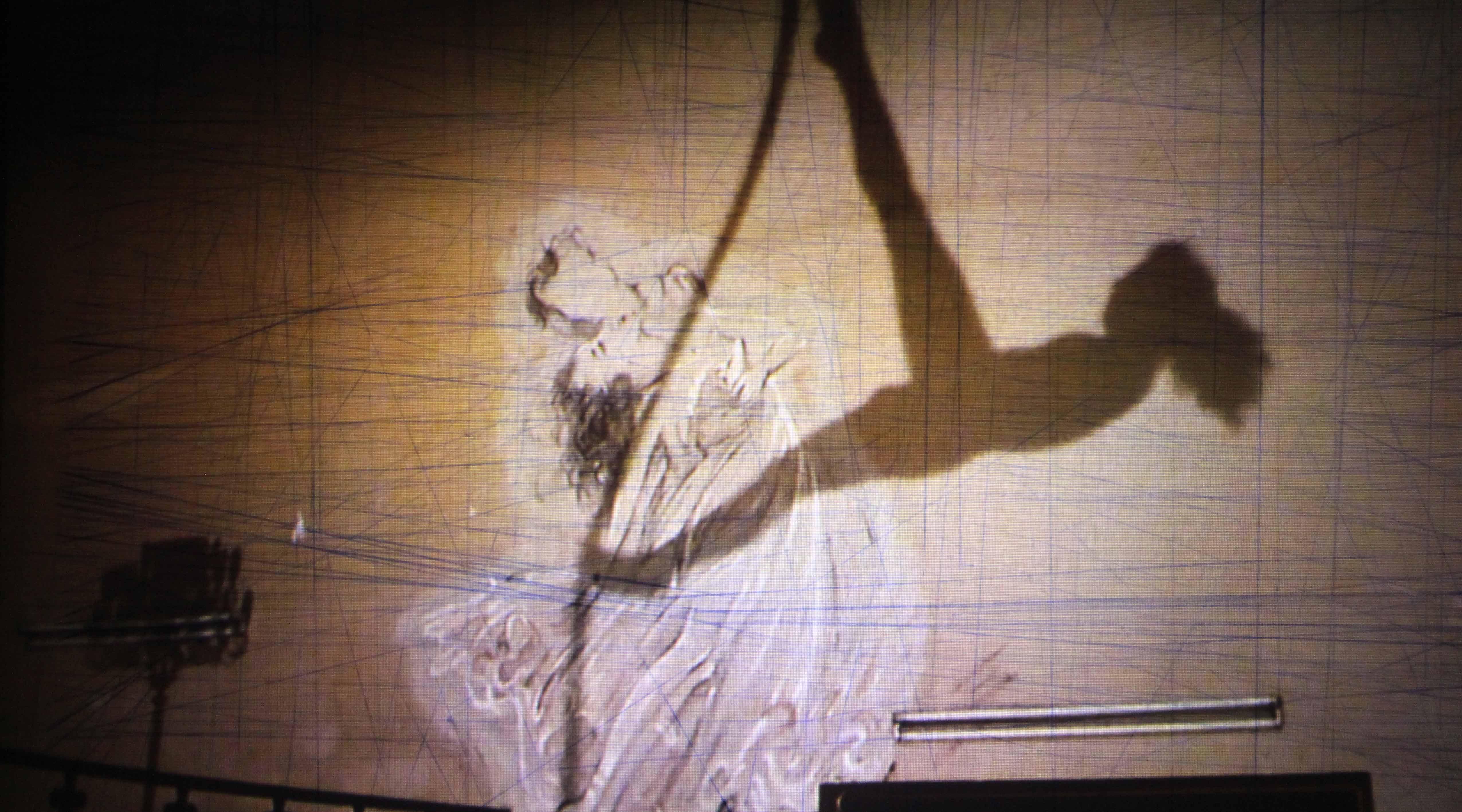 """""""El cielo sobre berlín"""" Euler 128 min 100 x 70 proceso"""