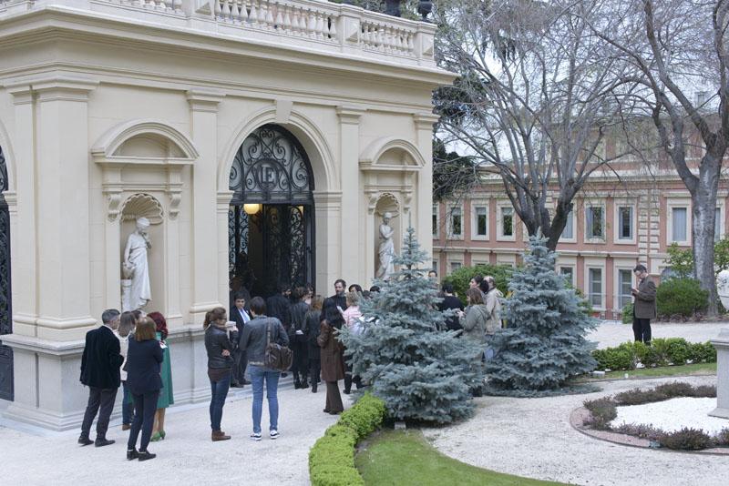 Entrada al Palacio Florido